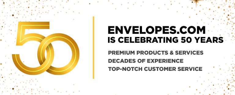 Envelopes.com is 50 Years Young