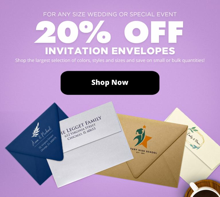 Save 20% Off | Envelopes.com