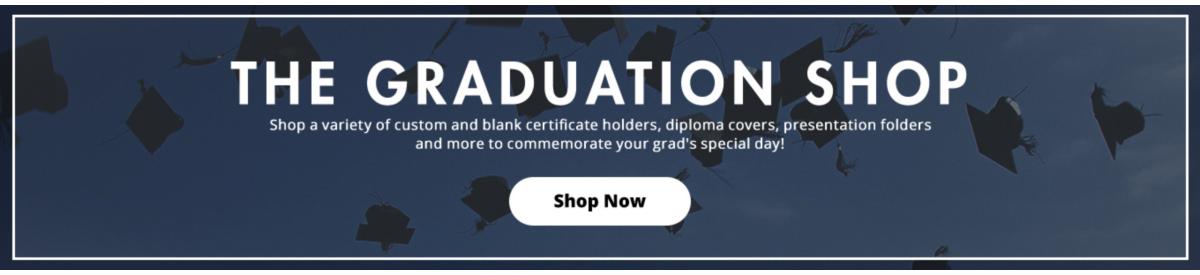 The Graduation Shop | Folders.com