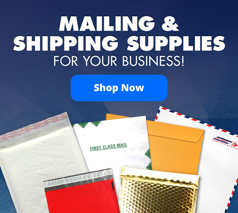 Mailing & Shipping Supplies for your business