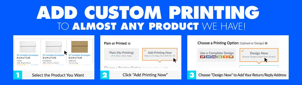 Envelope Printing Design Options Customized Envelopes - 9x12 envelope printing template